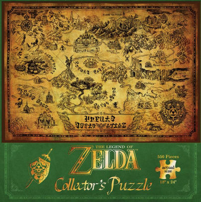 The Legend of Zelda Collector's Puzzle - 550 Pieces