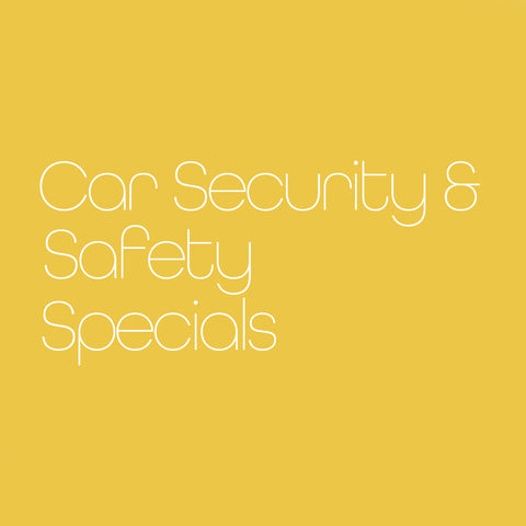 Car Security & Safety Specials
