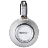 "Kicker KMTEDW, KMTED Tower Enclosure for Dual 6"" (160mm) and 6.5"" (165mm) Drivers, pair, White (12KMTEDW)"