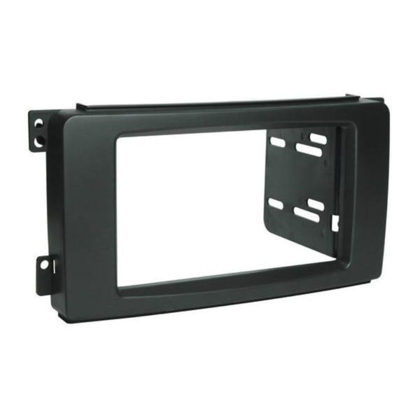 Scosche ST2430B, 2008-2010 Smart Fortwo Passion / Pure ISO Double DIN & DIN+Pocket Kit