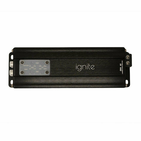 Ignite RM4.80, Compact 4 Channel Class D Full Range Micro Amplifier - 320W