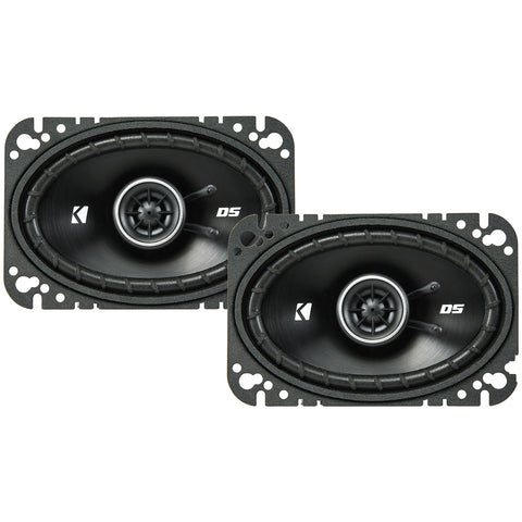 "Kicker DSC4604, DS Series 4x6"" Coaxial Speakers (43DSC4604)"