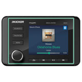 Kicker KMC5, Weather-Resistant All-in-One Media Center w/Bluetooth® (46KMC5)