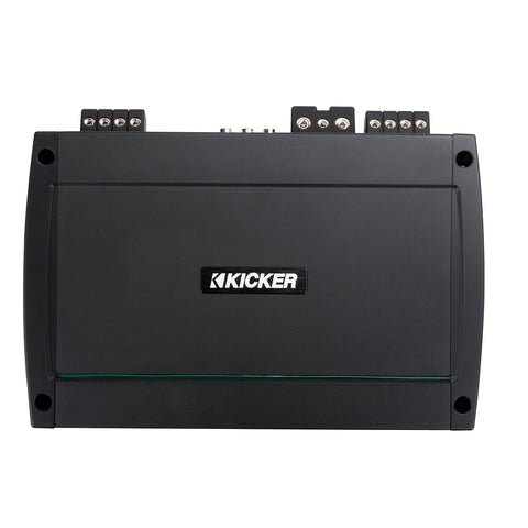 Kicker KXMA12002, KXM Series 2 Channel Class D Full Range Marine Amplifier - 1200 Watts (48KXMA12002)
