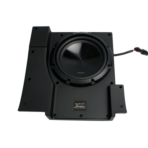 "Alpine SBV-10-WRA, Pre-Loaded 10"" Subwoofer for 2007-2018 Jeep® Wrangler JKU"