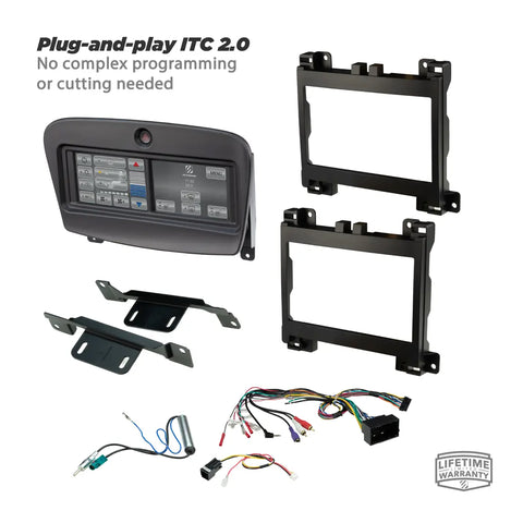Scosche ITCCR06B, Integrated Touch 2015-Up Dodge Challenger Dash Kit