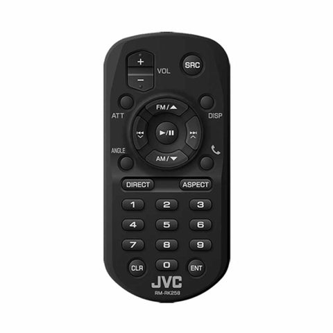 JVC RM-RK258, Wireless Remote for Select JVC Multimedia Receivers - Black