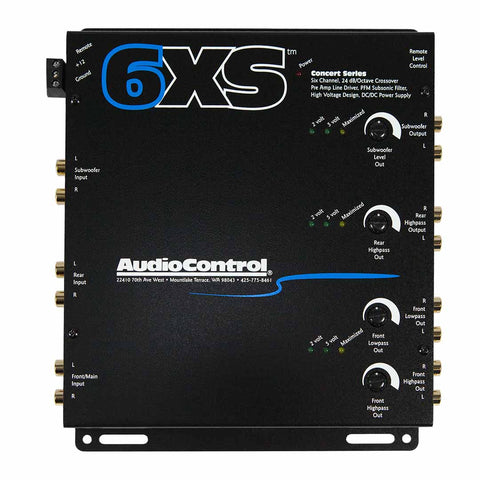 AudioControl 6XS, 6 Channel Electronic Crossover