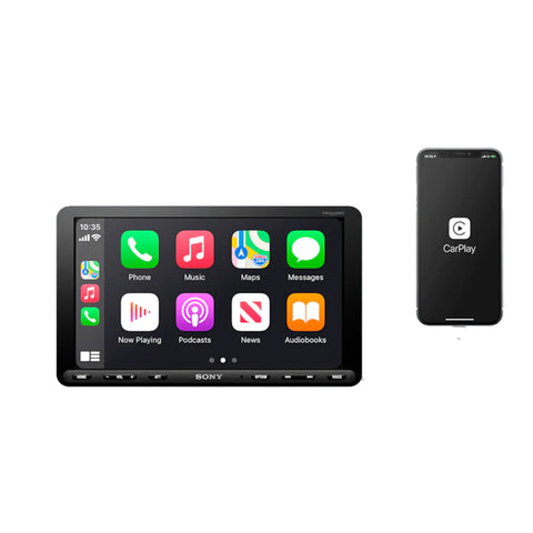 "Sony XAV-AX8100, 9"" Digital Multimedia Receiver Player w/ CarPlay and Android Auto"