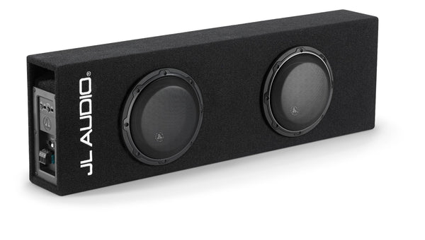 "JL Audio ACP208LG-W3v3, Loaded Dual W3 Series 8"" MicroSub+ with DCD Amplifier, Ported, 500W"