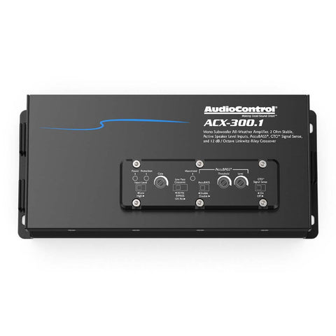 AudioControl ACX-300.1, ACX Series Monoblock Subwoofer Marine / Powersports Amplifier