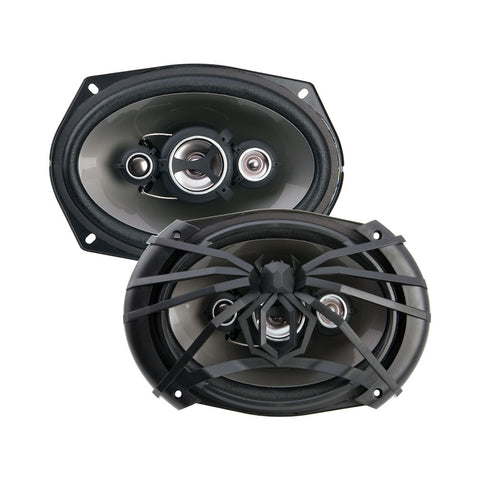 "Soundstream AF.694,Arachnid 4-way 6""x9"" Coaxial Car Speaker, 500W"