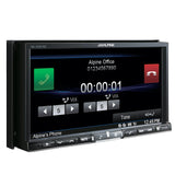 "Alpine INE-W957HD, Double-Din Car Multimedia Receiver with 7"" Screen and GPS Navigation"