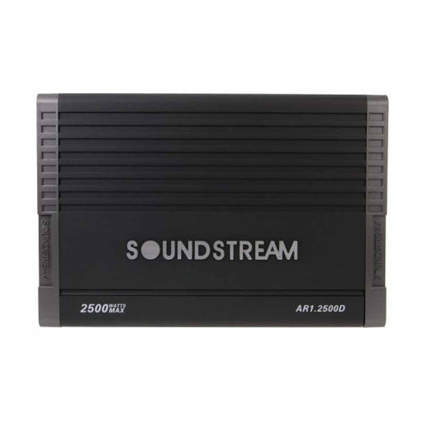 Soundstream AR1.2500D,Arachnid Monoblock Class D Car Amplifier w/Bass Remote - 2500W