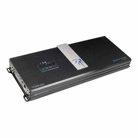 Soundstream BXA1-10000D,Bass Xtreme Monoblock Class D Car Amplifier w/ Built-in BX Digital Bass Processor - 10,000W