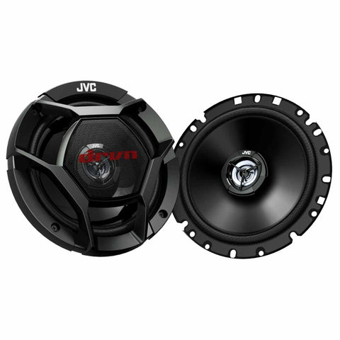 "JVC CS-DR1721, drvn DR Series 6.75"" 2-Way Shallow-Mount Coaxial Speakers - 300 Watts"