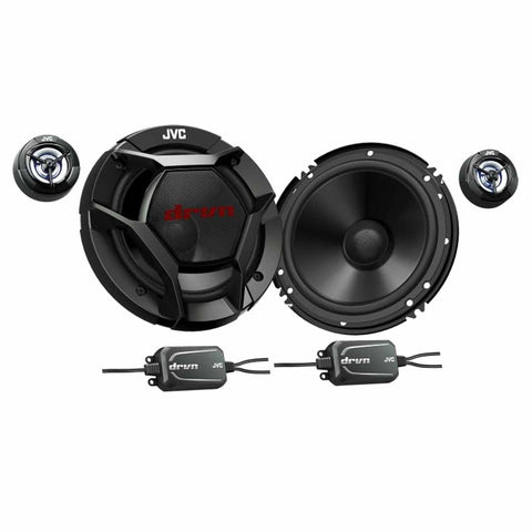 "JVC CS-DR601C, drvn DR Series 6.5"" 2-Way Shallow-Mount Component Speakers"