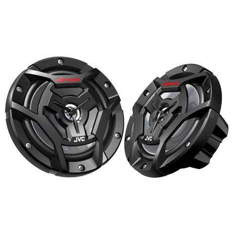 "JVC CS-DR6200M, Marine/MotorSports 6.5"" 2-Way Coaxial Speakers - 150 Watts (Black)"