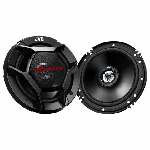 "JVC CS-DR621, drvn DR Series 6.5"" 2-Way Shallow-Mount Coaxial Speakers - 300 Watts"