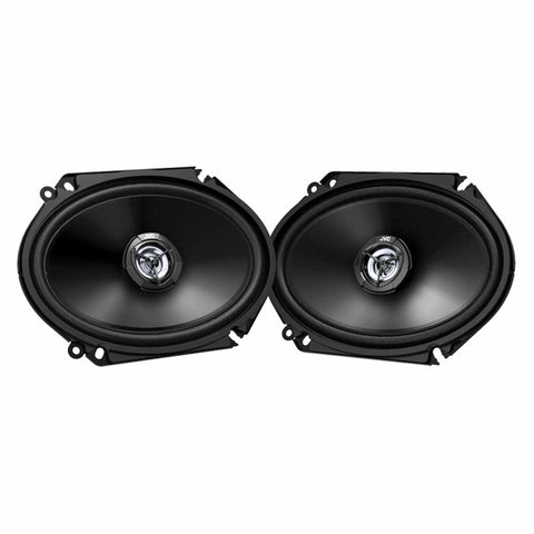 "JVC CS-DR6821, drvn DR Series 6x8"" 2-Way Shallow-Mount Coaxial Speakers - 300 Watts"