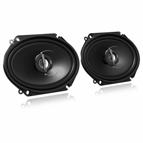 "JVC CS-J6820, J Series 6x8"" 2-Way Coaxial Car Speakers - 250 Watts"