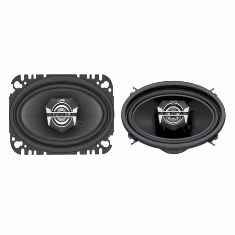 "JVC CS-V4627, drvn V Series 4x6""2-Way Coaxial Speakers"