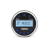 Clarion GR10BT, Marine Gauge Hole USB/MP3/WMA Receiver with built-in Bluetooth