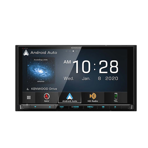 "Kenwood DNX997XR, eXcelon Reference 6.8"" Navigation/DVD Receiver w/ CarPlay and Android Auto"