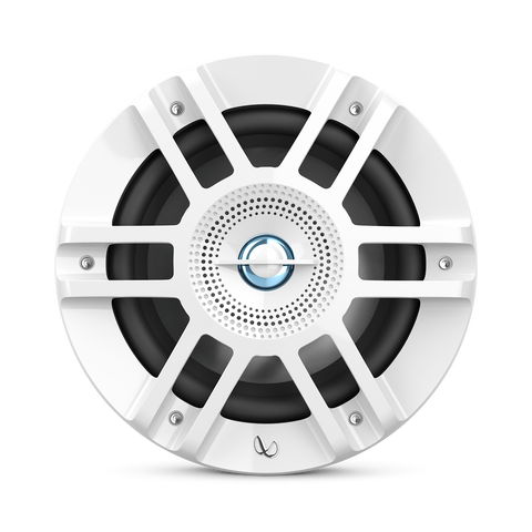 "Infinity KAPPA6120MAM, KAPPA Series 6.5"" 2-Way Premium Marine Coaxial Speakers w/ RGB Lighting - White"