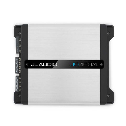 JL Audio JD400/4, JD Series Class D 4 Channel Full Range Amplifier, 400W