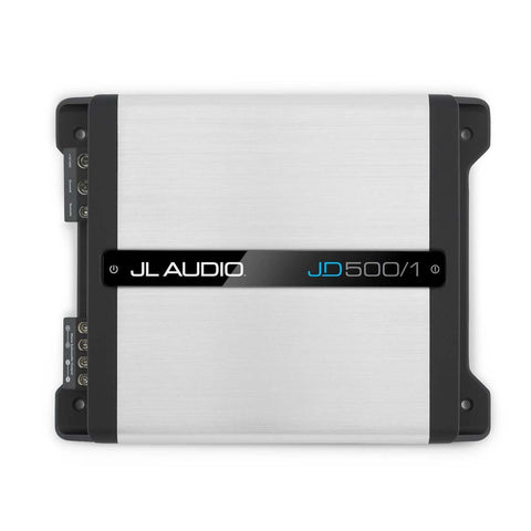 JL Audio JD500/1, JD Series Class D Monoblock Subwoofer Amplifier, 500W