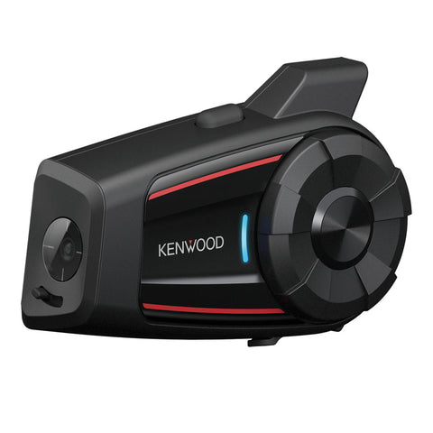 Kenwood KCA-HX7C, Motorcycle Camera & Bluetooth Communication System w/ Mesh Intercom