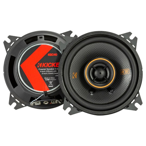 "Kicker KSC404, KS Series 4"" Coaxial Speakers (47KSC404)"