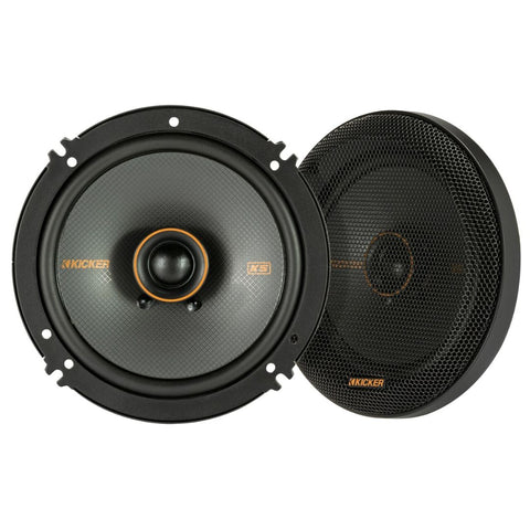 "Kicker KSC6504, KS Series 6.5"" Coaxial Speakers (47KSC6504)"