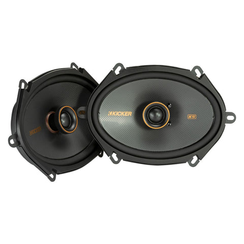 "Kicker KSC6804, KS Series 6x8"" Coaxial Speakers (47KSC6804)"