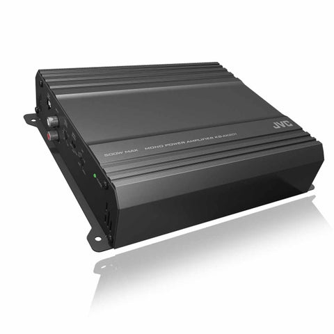 JVC KS-AX201, AX2 Series Monoblock Class AB Car Amplifier - 500 Watts