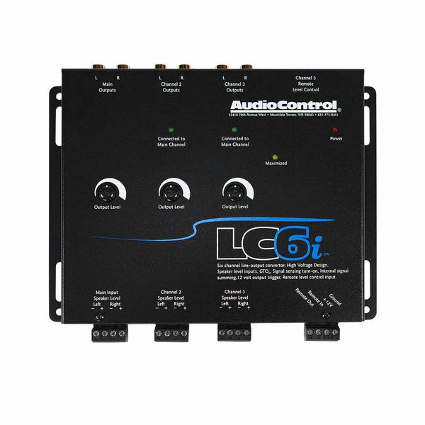 AudioControl LC6i 6 Channel Line Output Converter with Internal Summing