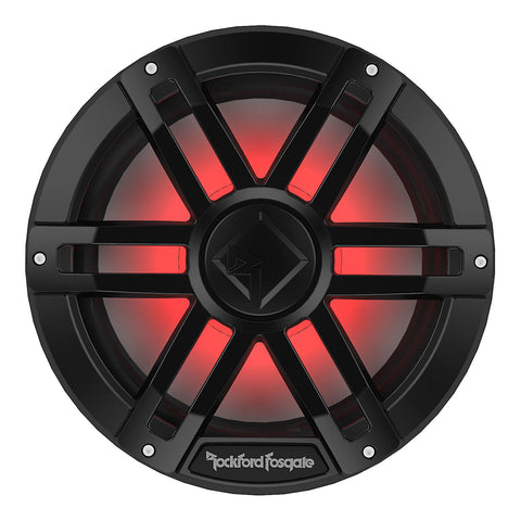 "Rockford Fosgate M1D2-12B, M1 12"" Color Optix Marine Subwoofer Dual Voice Coil 2 Ohm, 1200W"