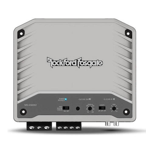 Rockford Fosgate M2-200X2, Prime M2 Series 2-Channel Element Ready™ Amplifier  - 200 Watts