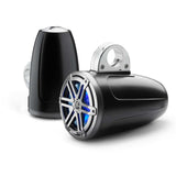 "JL Audio M3-770ETXv3-Sb-S-Gm-i, M3 7.7"" 2-Way Enclosed Marine Coaxial Speakers w/ LED"
