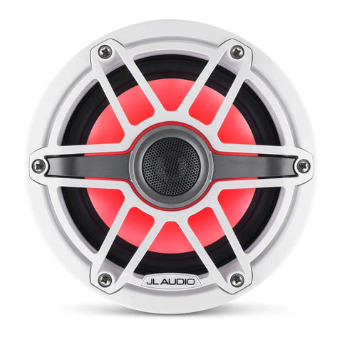 "JL Audio M6-880X-S-GwGw-i, M6 Series 8.8"" 2-Way Coaxial Marine Speaker, Pair"