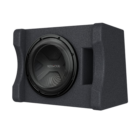 "Kenwood P-W3041S, Single 12"" Vented Loaded Subwoofer Enclosure - 300W RMS"