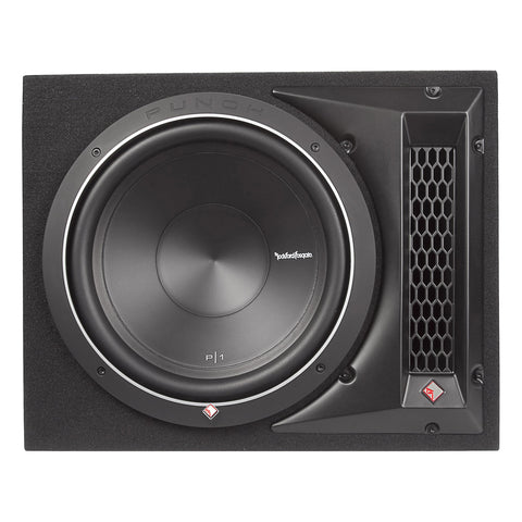 "Rockford Fosgate P1-1X12, Punch 12"" Ported Loaded Enclosure, 250 Watts RMS"
