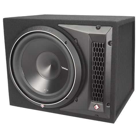 "Rockford Fosgate P3-1X12, Punch 12"" Ported Loaded Enclosure, 600 Watts RMS"