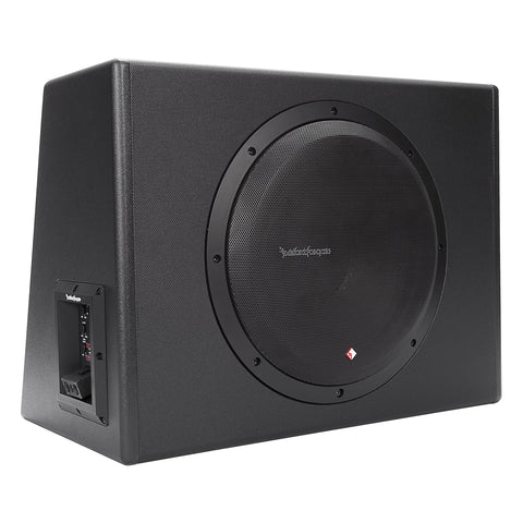 "Rockford Fosgate P300-12, Punch 12"" Powered Subwoofer - 300 Watts RMS"