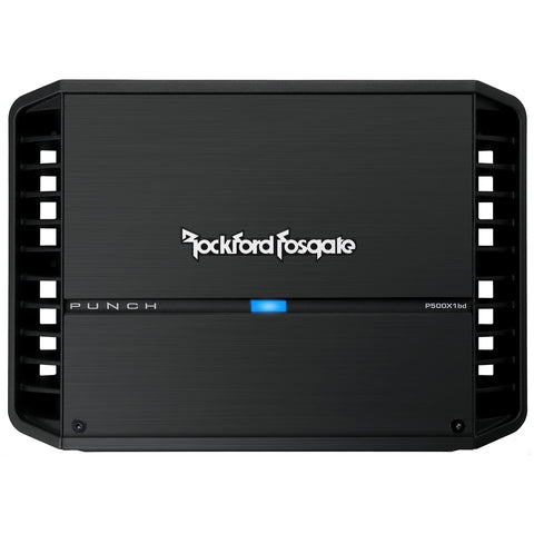 Rockford Fosgate P500X1BD, Punch Series Mono Car Amplifier