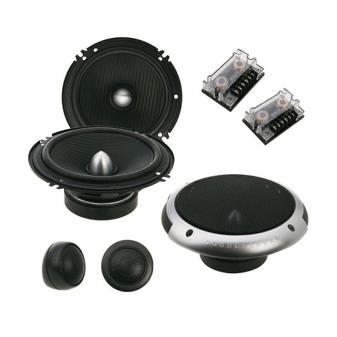 "Soundstream PF.6,Picasso 6.5"" 2-way Component Car Speaker Set - 350W"