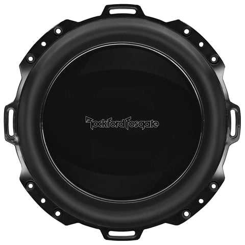 "Rockford Fosgate PM210S4B, Punch Black 10"" Marine 4 Ohm Single Voice Coil Subwoofer, 500W"