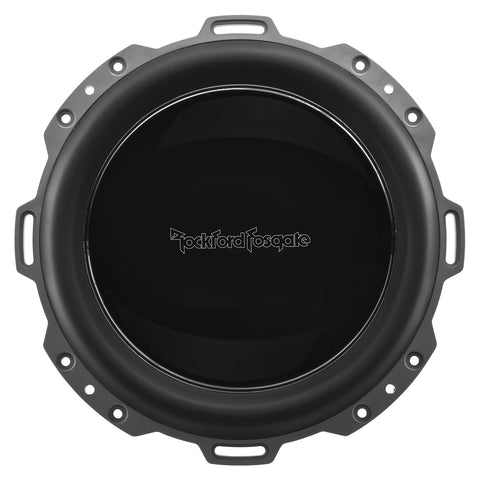 "Rockford Fosgate PM210S4, Punch White 10"" Marine 4 Ohm Single Voice Coil Subwoofer, 500W"