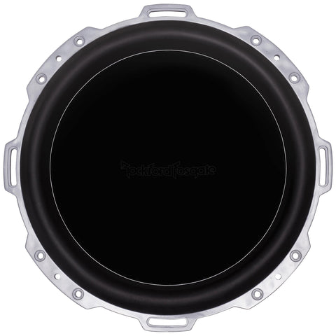"Rockford Fosgate PM212S4, Punch White 12"" Marine 4 Ohm Single Voice Coil Subwoofer, 600W"